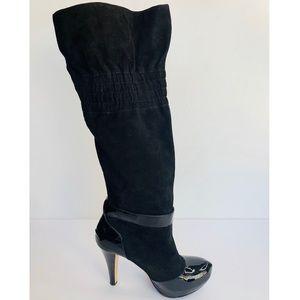 Report Signture Sullivan Black Knee High Boots